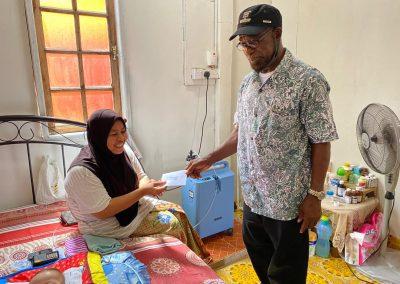 bantuan asnaf at Tumpat sept 2020 5