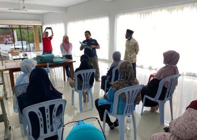 projek jahitan ppe MERCY Malaysia 6